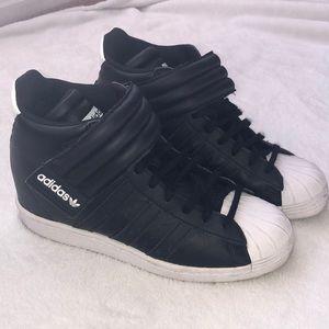 Adidas originals superstar UP wedge sneakers